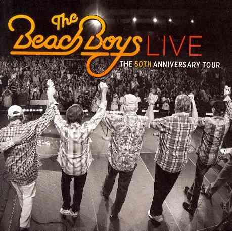 LIVE:50TH ANNIVERSARY TOUR BY BEACH BOYS (CD)